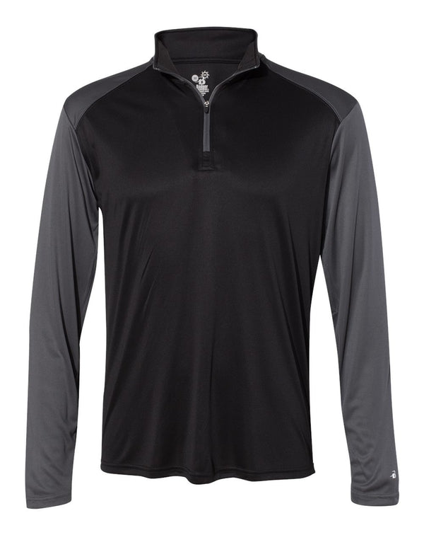 Ultimate SoftLock Sport Quarter-Zip Pullover-Badger-Pacific Brandwear
