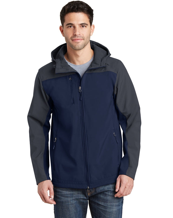 Port Authority®Hooded Core Soft Shell Jacket-Port Authority-Pacific Brandwear