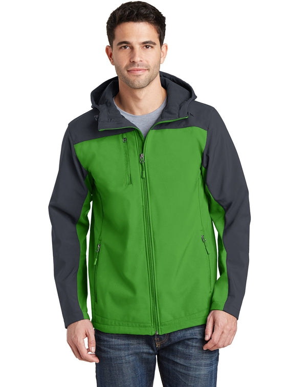 Port Authority® Hooded Core Soft Shell Jacket-Port Authority-Pacific Brandwear
