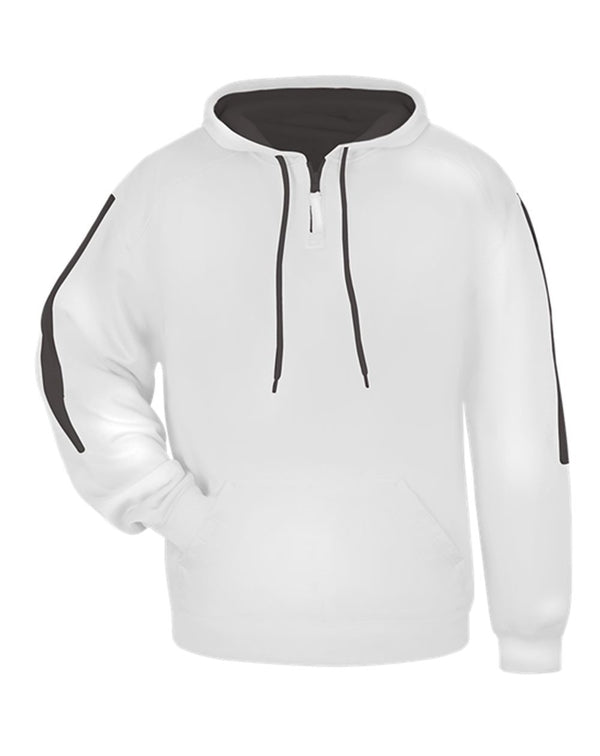 Sideline Fleece Hooded Sweatshirt-Badger-Pacific Brandwear
