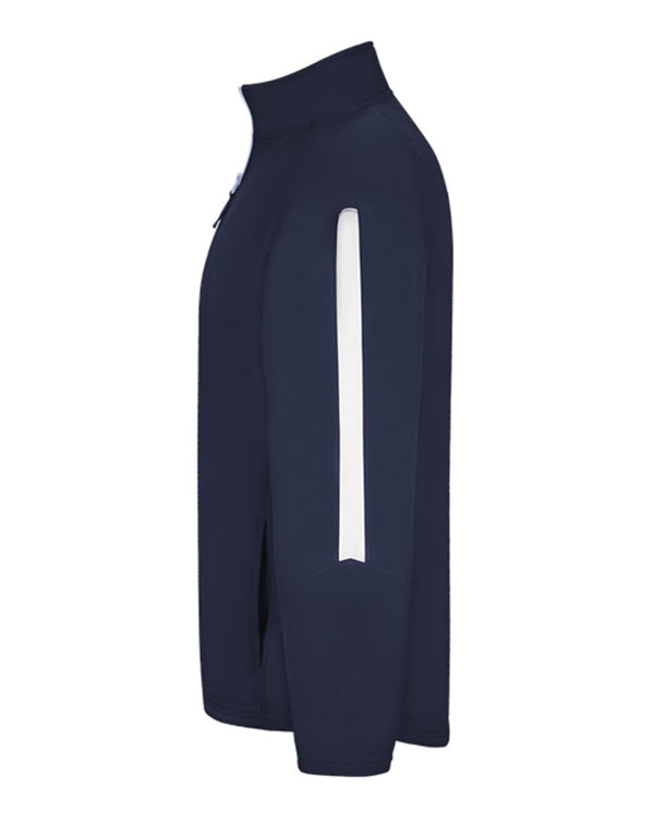 Sideline Fleece Quarter-Zip Pullover-Badger-Pacific Brandwear