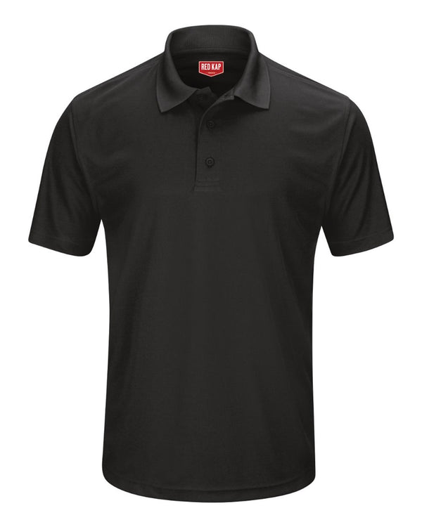Short sleeve Performance Knit Pocketless Core Polo-Red Kap-Pacific Brandwear