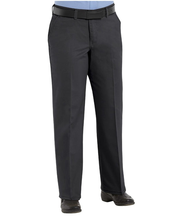 Women's Plain Front Cotton Pants Additional Sizes-Red Kap-Pacific Brandwear