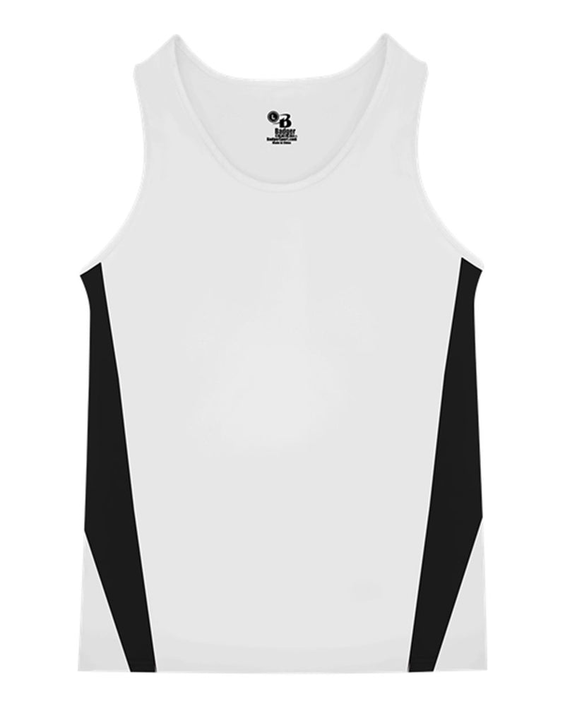 Youth Stride Singlet-Badger-Pacific Brandwear