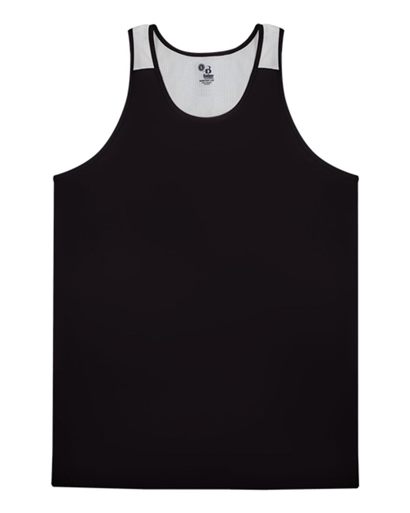 Youth Ventback Singlet-Badger-Pacific Brandwear