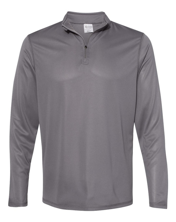 Attain True Hue Performance Quarter-Zip Pullover-Augusta Sportswear-Pacific Brandwear