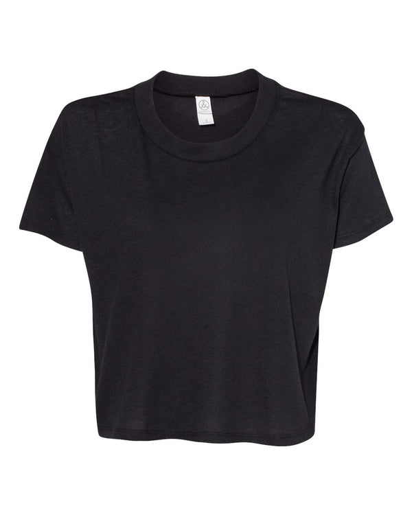 Women's Vintage Jersey Headliner Cropped Tee-Alternative Apparel-Pacific Brandwear