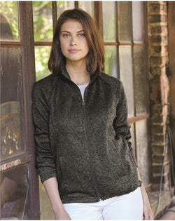 Women's Vintage Sweaterfleece Full-Zip Sweatshirt-Weatherproof-Pacific Brandwear