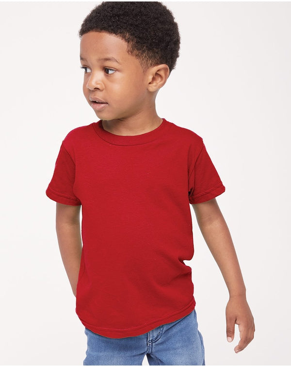 Toddler Fine Jersey Tee-American Apparel-Pacific Brandwear