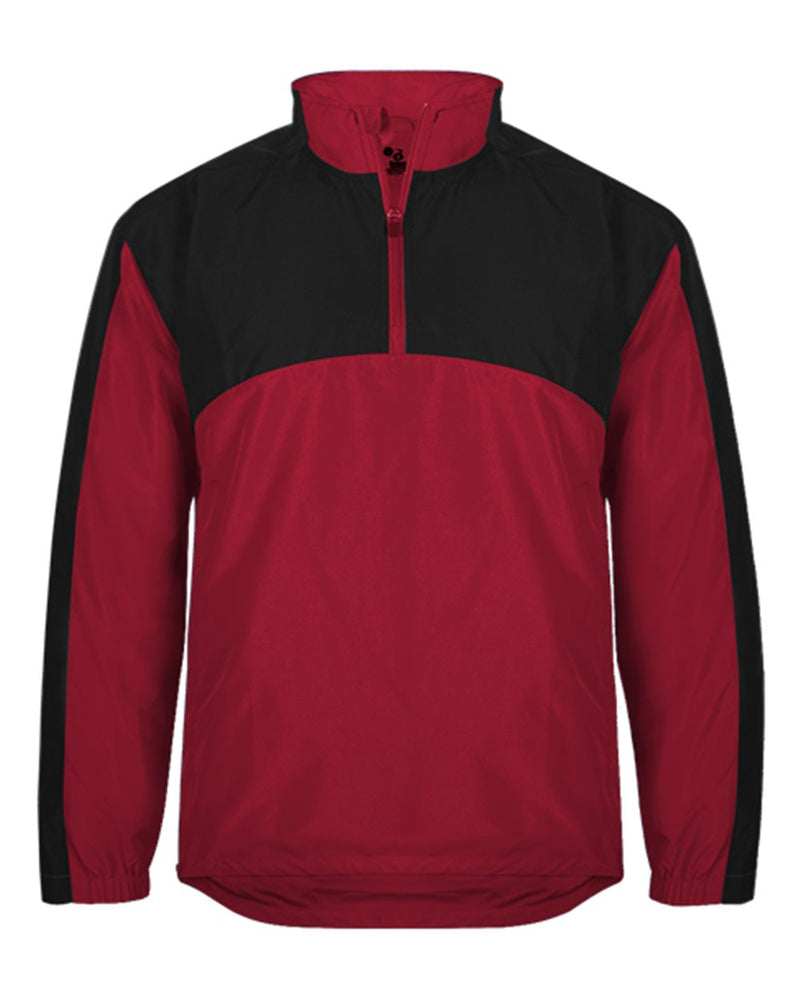 Contender Quarter-Zip Jacket-Badger-Pacific Brandwear