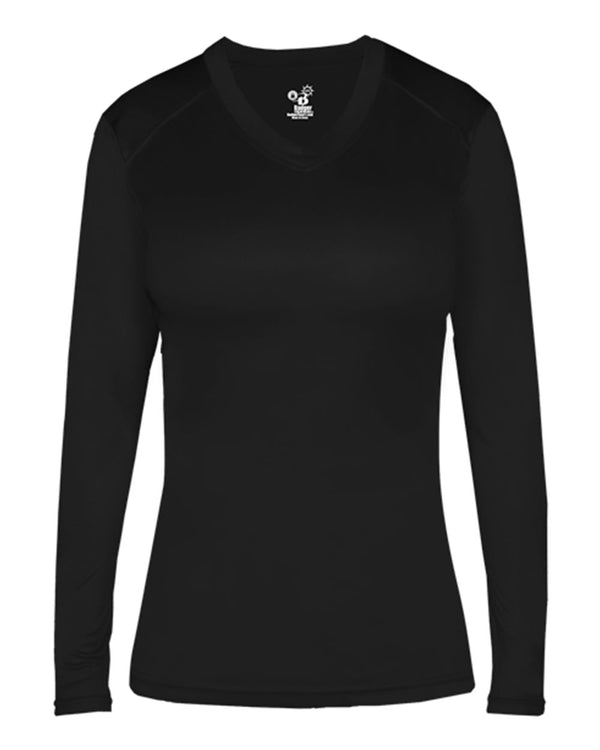 Women's Ultimate SoftLock Fitted Long sleeve T-Shirt-Badger-Pacific Brandwear
