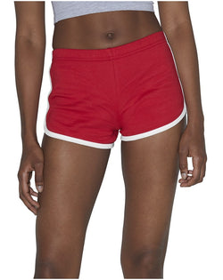 Women's Interlock Running Shorts-American Apparel-Pacific Brandwear