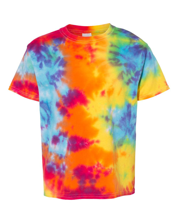 Youth Novelty Tie Dye T-Shirt-Dyenomite-Pacific Brandwear