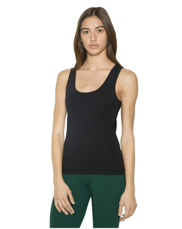Women's Cotton Spandex Tank-American Apparel-Pacific Brandwear