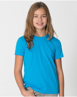 Youth 50/50 Poly/Cotton Tee-American Apparel-Pacific Brandwear