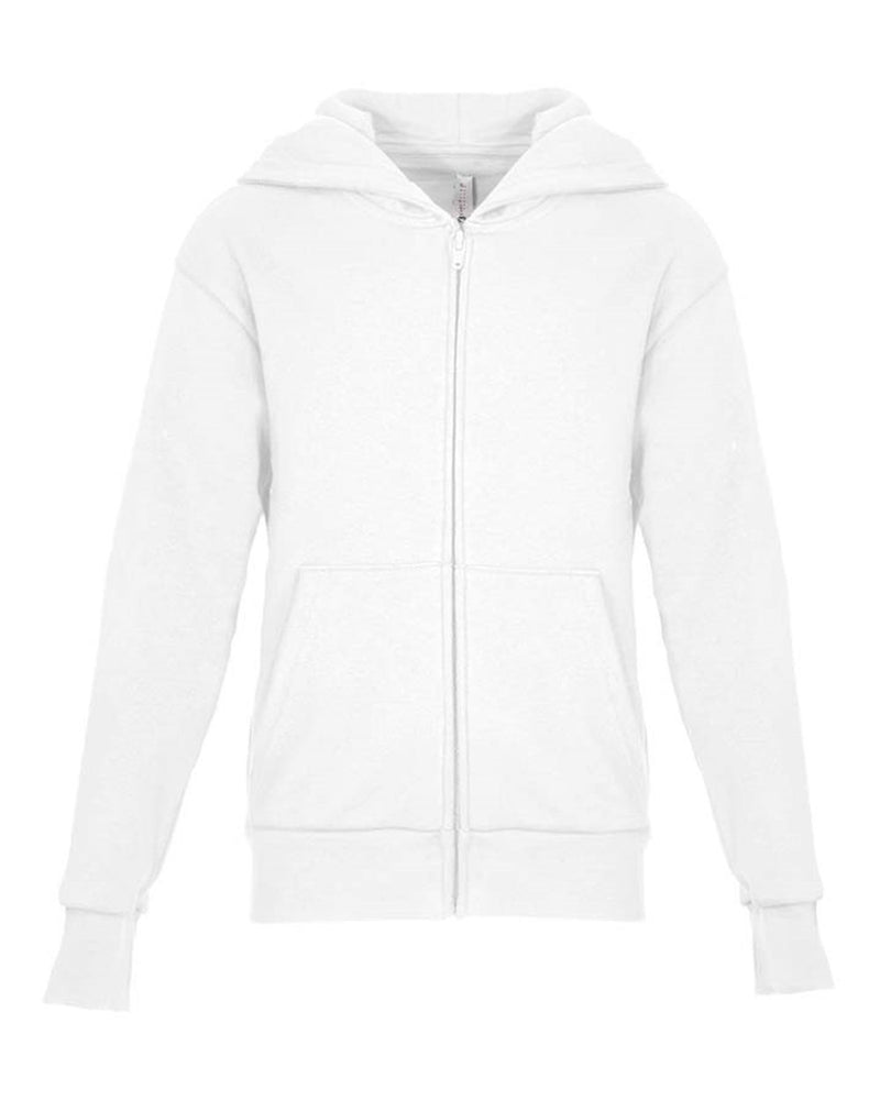 Youth Zip Hoodie-Next Level-Pacific Brandwear