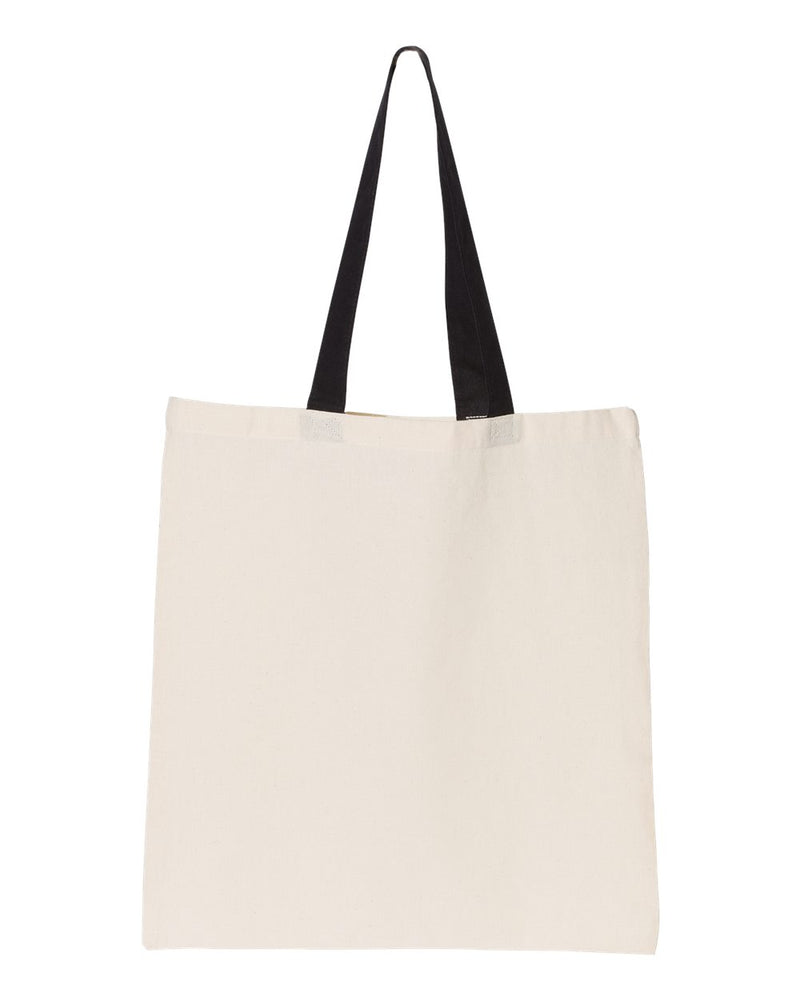 Contrast-Color Handle Tote-OAD-Pacific Brandwear