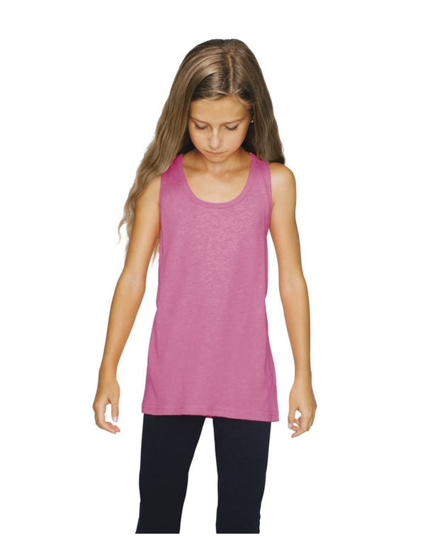 Youth Poly/Cotton Tank-American Apparel-Pacific Brandwear