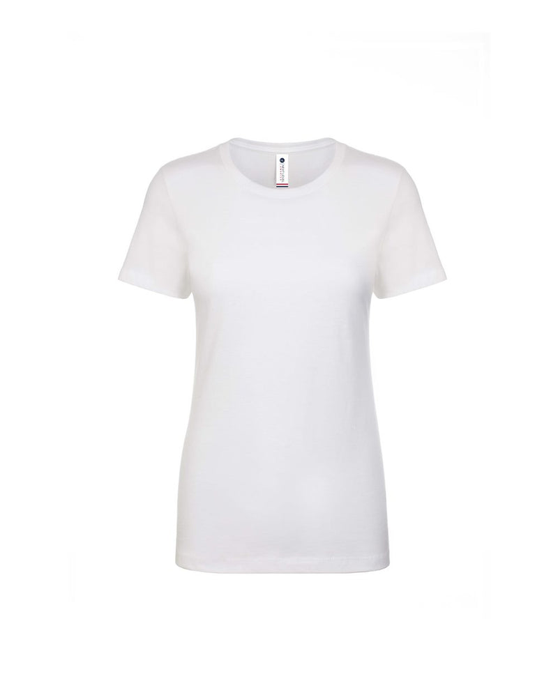 USA-Made Women's Boyfriend Tee-Next Level-Pacific Brandwear