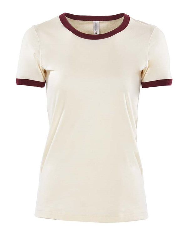 Women's Ringer Tee-Next Level-Pacific Brandwear