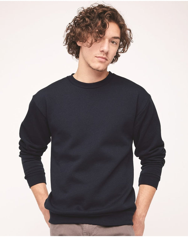 Flex Fleece Unisex Drop-Shoulder Sweatshirt-American Apparel-Pacific Brandwear