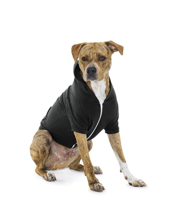 Dog Flex Fleece Hoodie-American Apparel-Pacific Brandwear