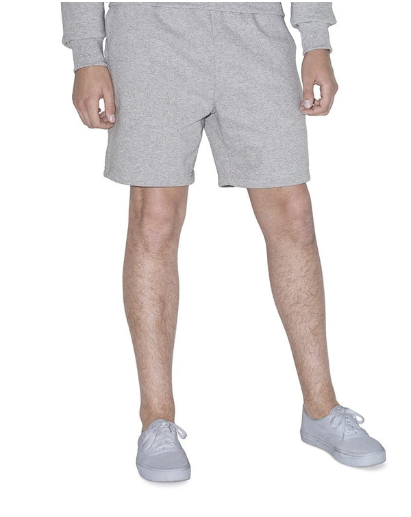 Unisex Mason Fleece Gym Shorts-American Apparel-Pacific Brandwear