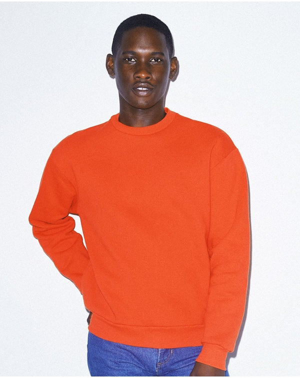 Unisex Mason Fleece Drop Shoulder SweatShirt-American Apparel-Pacific Brandwear
