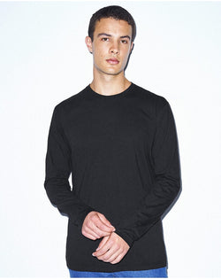 Unisex Power Wash Long sleeve Tee-American Apparel-Pacific Brandwear
