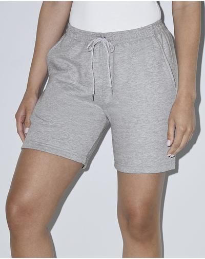 Unisex California Fleece Gym Shorts-American Apparel-Pacific Brandwear