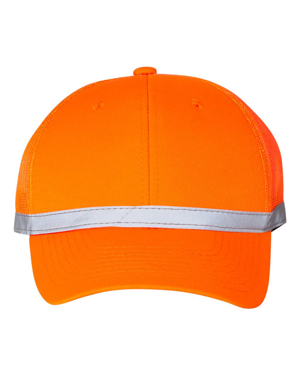 ANSI Certified Mesh-Back Cap-Outdoor Cap-Pacific Brandwear