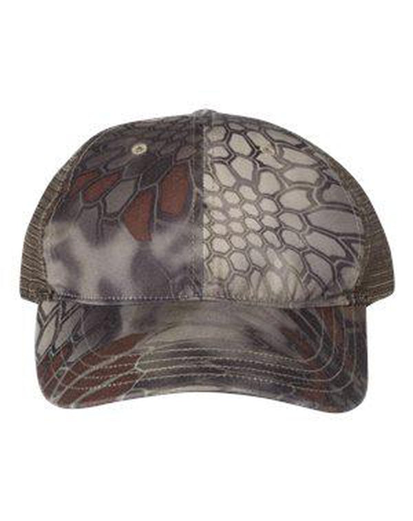 Washed Printed Trucker Cap-Richardson-Pacific Brandwear