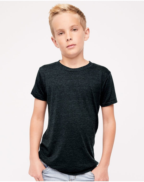 Youth Triblend Tee-American Apparel-Pacific Brandwear