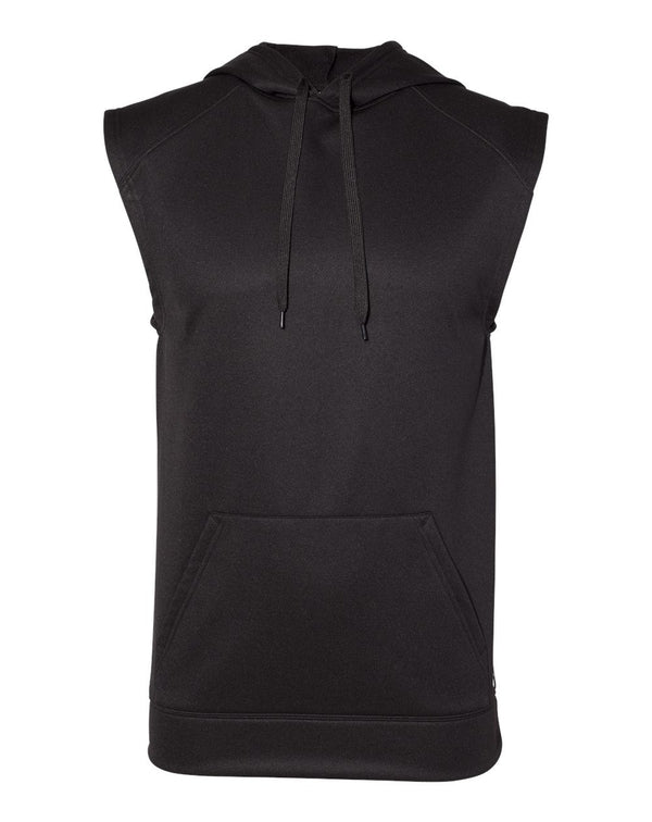 Performance Fleece sleeveless Hooded Sweatshirt-Badger-Pacific Brandwear