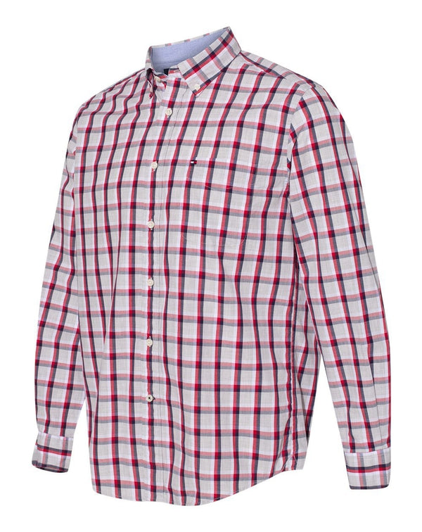 Tommy Hilfiger Long Sleeve Plaid Shirt-Tommy Hilfiger-Pacific Brandwear