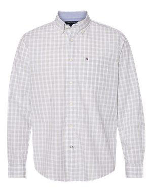 Long Sleeve Plaid Shirt-Tommy Hilfiger-Pacific Brandwear