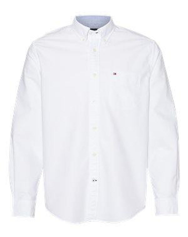 New England Solid Oxford Shirt-Tommy Hilfiger-Pacific Brandwear