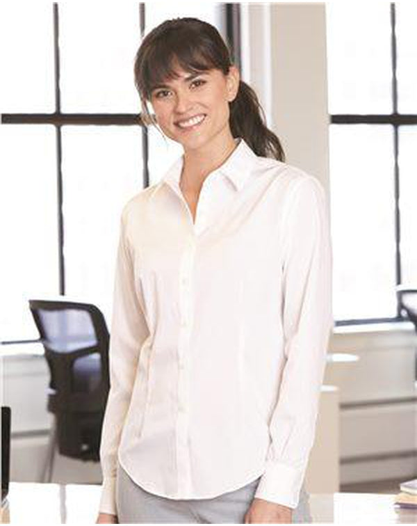 Women's Flex 3 Shirt With Four-Way Stretch-Van Heusen-Pacific Brandwear