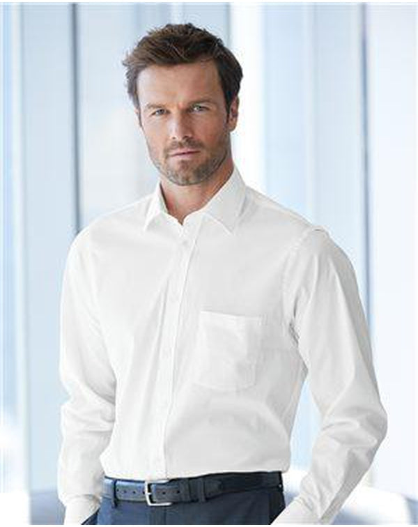 Stretch Spread Collar Shirt-Van Heusen-Pacific Brandwear