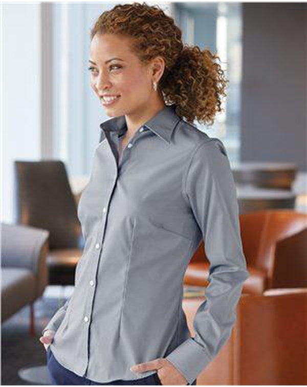 Women's Stretch Spread Collar-Van Heusen-Pacific Brandwear