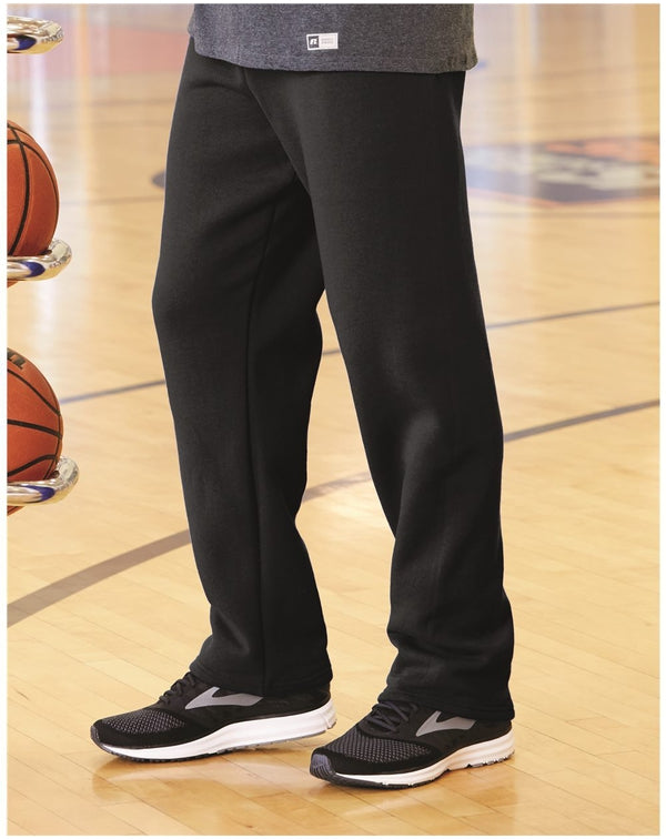 Dri Power Open Bottom Pocket Sweatpants-Russell Athletic-Pacific Brandwear