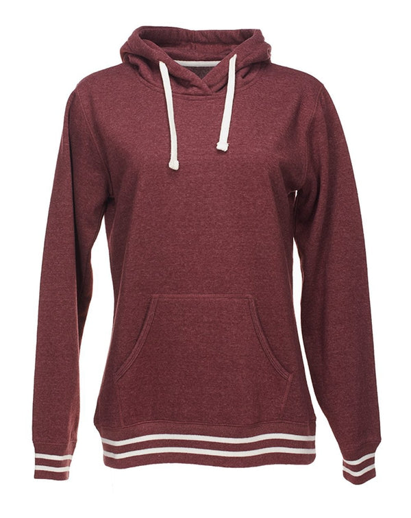 Women's Relay Hooded Sweatshirt-J. America-Pacific Brandwear