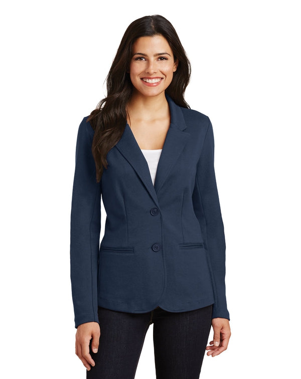 Port Authority® Ladies Knit Blazer-Port Authority-Pacific Brandwear