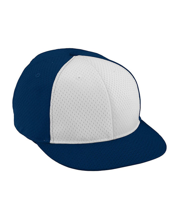 Youth Athletic Mesh Flat Bill Cap-Augusta Sportswear-Pacific Brandwear