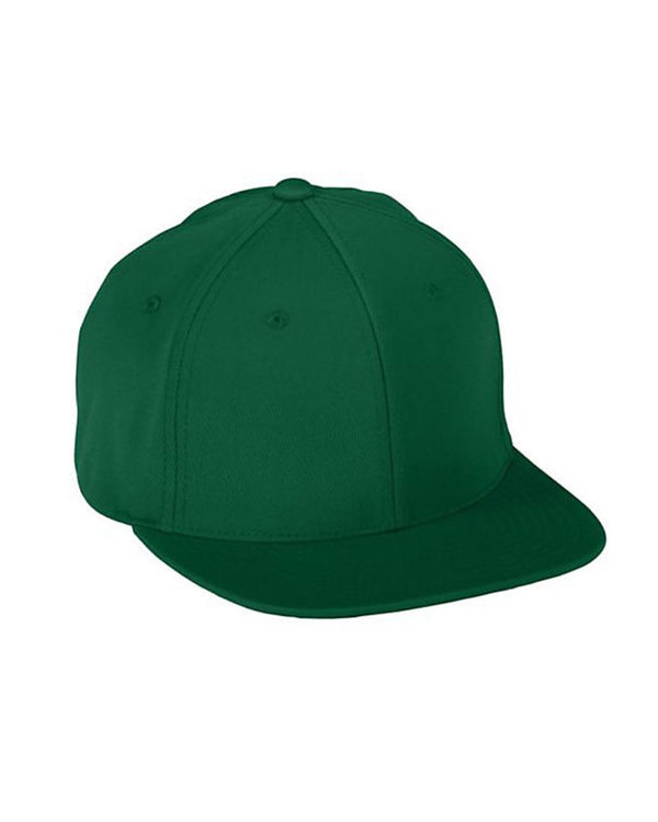 Youth FlexFit Flat Bill Cap-Augusta Sportswear-Pacific Brandwear