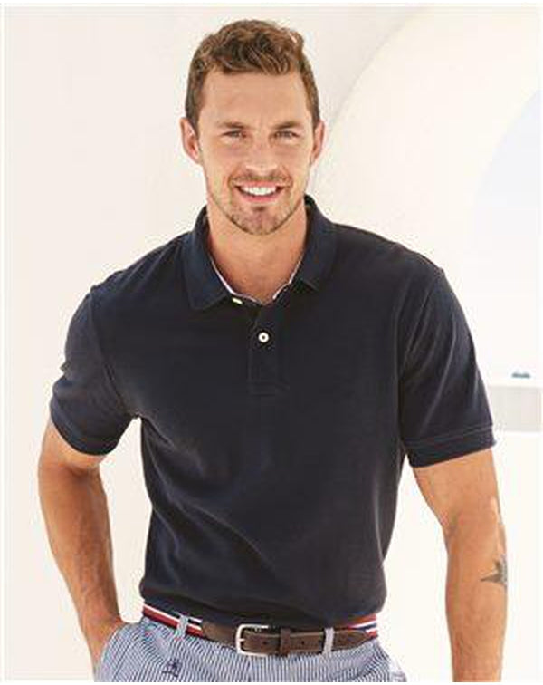 Classic Fit Ivy Pique Sport Shirt-Tommy Hilfiger-Pacific Brandwear