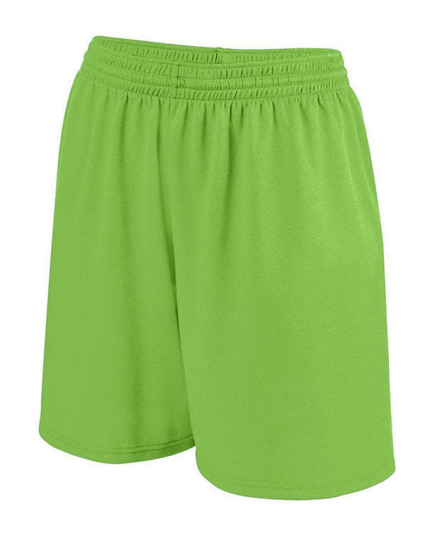 Girls Shockwave Shorts-Augusta Sportswear-Pacific Brandwear