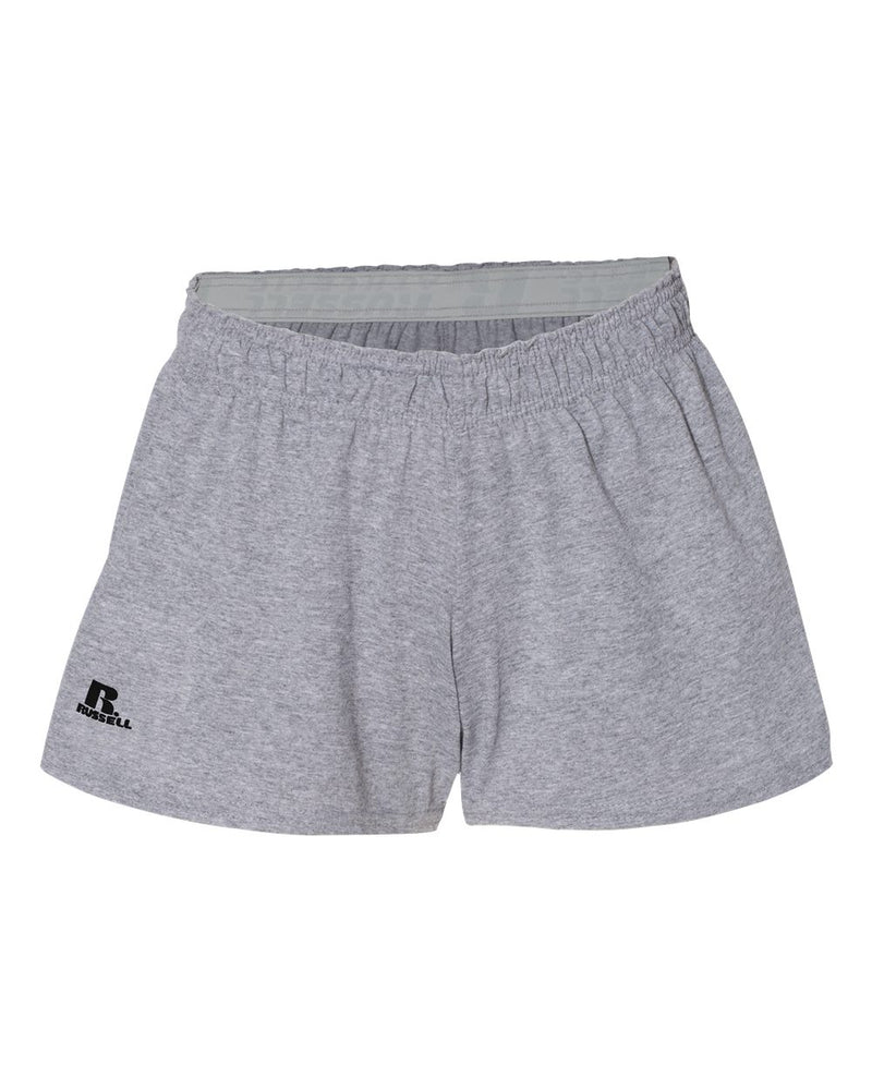 "Women's Essential Jersey 3"" Inseam Shorts-Russell Athletic-Pacific Brandwear"