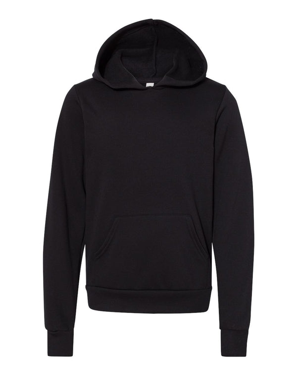Youth Sponge Fleece Hoodie-BELLA + CANVAS-Pacific Brandwear