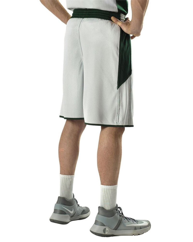 Single Ply Reversible Basketball Shorts-Alleson Athletic-Pacific Brandwear